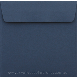 Square - 160 x 160mm Colorplan Cobalt 135gsm Envelopes
