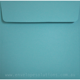 Square - 160 x 160mm Colorplan Turquoise 135gsm Envelopes