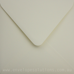 Square - 160 x 160mm Via Felt Cream White 118gsm Envelopes