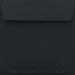 Square - 90 x 90mm Black 125gsm Envelopes