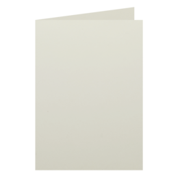 A6 - 105 x 148mm Knight Smooth Cream 280gsm Scored Card