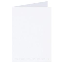 A6 - 105 x 148mm Knight Smooth White 280gsm Scored Card