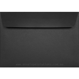 C6 - 114 x 162mm Black Cover 125gsm Envelopes