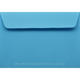 C6 - 114 x 162mm Kaskad Peacock Blue 100gsm Envelopes