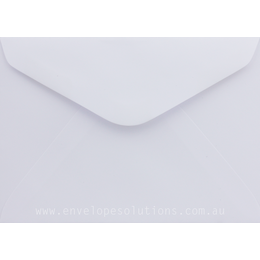 C6 - 114 x 162mm Knight Smooth White 105gsm Envelopes