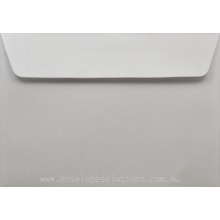 Card Envelope - 130 x 184mm Curious Metallic Ice Silver 120gsm