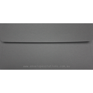 DL - 110 x 220mm Colorplan Dark Grey 135gsm Envelopes