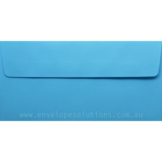 DL - 110 x 220mm Kaskad Peacock Blue 100gsm Envelopes