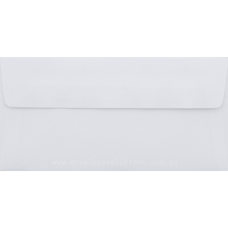 DL - 110 x 220mm Superfine Smooth Ultra White 118gsm Envelopes