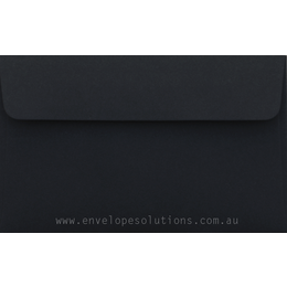 11B - 90 x 145mm Black 125gsm Envelopes