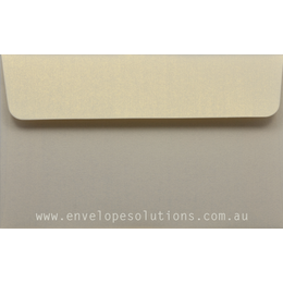 11B - 90 x 145mm Curious Metallic White Gold 120gsm Envelopes