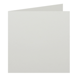 Square - 125 x 125mm Via Felt Bright White 270gsm Scored Card