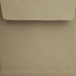 Square - 130 x 130mm Botany Natural 115gsm Envelopes