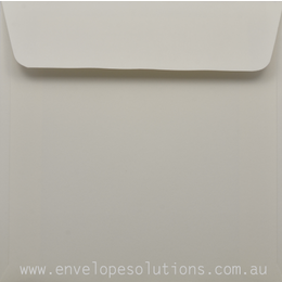 Square - 150 x 150mm Curious Metallic Cryogen White 120gsm Envelopes