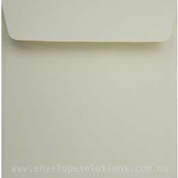 Square - 150 x 150mm Via Felt Cream White 118gsm Envelopes