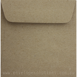Square - 90 x 90mm Botany Natural 150gsm Envelopes