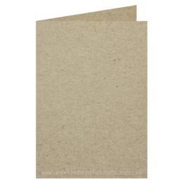 A6 - 105 x 148mm Enviro Board 335gsm Scored Card