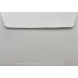 C5 - 162 x 229mm Curious Metallic Ice Silver 120gsm Envelopes