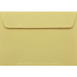 C5 - 162 x 229mm Kaskad Canary Yellow 100gsm Envelopes