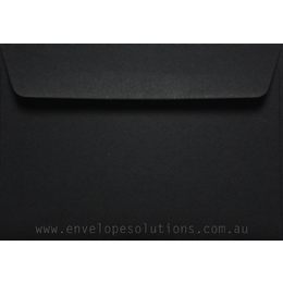 C6 - 114 x 162mm Colorplan Ebony Black 135gsm Envelopes