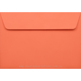 C6 - 114 x 162mm Kaskad Fantail Orange 100gsm Envelopes