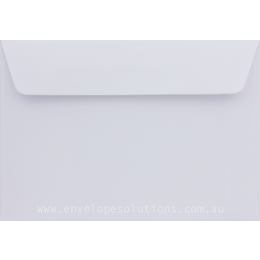 C6 - 114 x 162mm Knight Smooth White 120gsm Envelopes