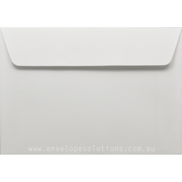 C6 - 114 x 162mm Via Linen Pure White 118gsm Envelopes
