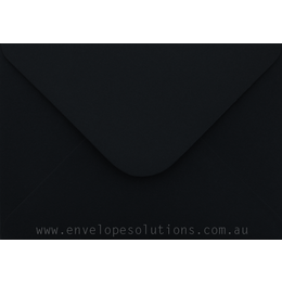 Card Envelope - 131 x 187mm Colorplan Ebony Black 135gsm