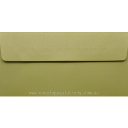 DL - 110 x 220mm Curious Metallic Lime 120gsm Envelopes