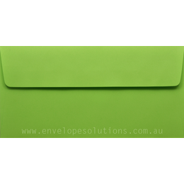 DL - 110 x 220mm Kaskad Parakeet Green 100gsm Envelopes