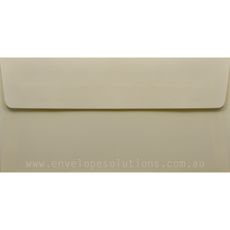 DL - 110 x 220mm Kaskad Wheatear Yellow 100gsm Envelopes
