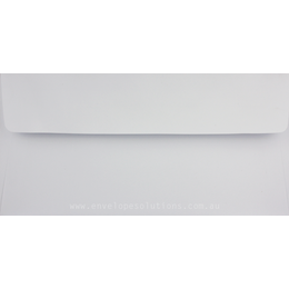 DL - 110 x 220mm White 100gsm Envelopes
