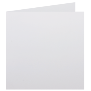 Square - 145 x 145mm Knight Smooth White 280gsm Scored Card