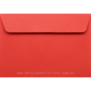 C5 - 162 x 229mm Kaskad Rosella Red 100gsm Envelopes