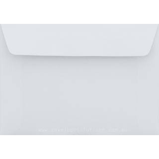 C6 - 114 x 162mm Superfine Smooth Ultra White 118gsm Envelopes