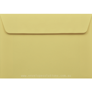 Card Envelope - 130 x 184mm Kaskad Canary Yellow 100gsm