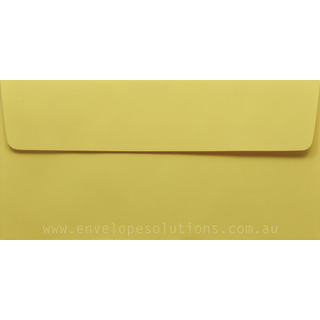 DL - 110 x 220mm Kaskad Canary Yellow 100gsm Envelopes